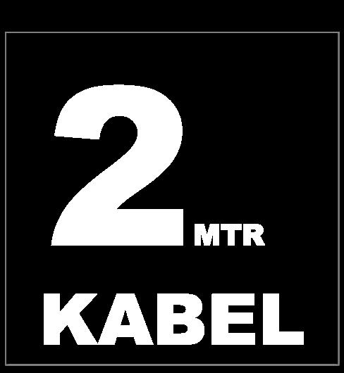 2 meter kabel